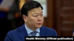 Министр здравоохранения Алексей Цой.