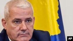 Министерот за внатрешни работи на Косово, Џељаљ Свечља.