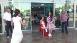 """Се тоҷи моделҳои тоҷик дар озмуни """"Маликаи зебоӣ"""""""