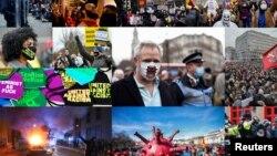 Tüntetések Európa-szerte