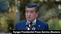 سورنبای جینبکف رئیس جمهوری قرغیزستان