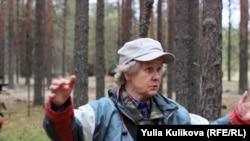 Людмила Королёва на Лесозаводском кладбище