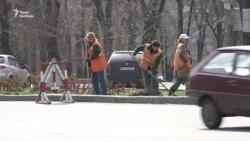 Ситуація на вулицях Запоріжжя в перший день карантину