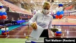 Pamje nga procesi i votimit në Rusi.