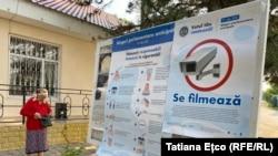 Moldova alegeri 11 iulie 2021 -La secția de votare din satul Miclești, Orhei, la prima oră de votare.