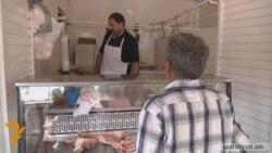 ԳՈՒՄ-ի շուկայի մսավաճառները վերաբացել են իրենց կրպակները
