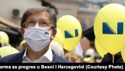 Mi živimo u diktaturi: Mirsad Hadžikadić