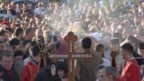 Thousands Mourn Montenegro's Serbian Orthodox Church Head GRAB 2