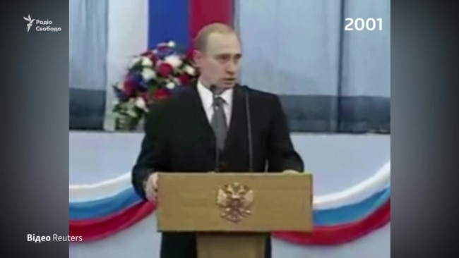 2001-2020: Vladimir Putin on the Russian Constitution then and now - video