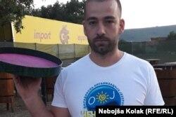 Mato Vujović na festivalu je posluživao goste