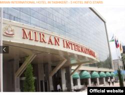 Ойбек Мухаммадалиевич Умаров является единственным собственником гостиницы Miran International.