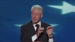 Bill Klinton mbështet presidentin Obama.