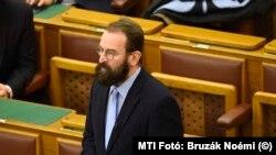 Fostul europarlamentar József Száje a demisionat și din partidul Fidez, pe care l-a fondat alături de Viktor Orban, Budapesta (foto arhivă, 2016).
