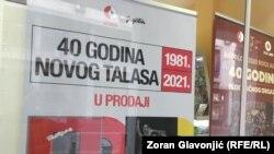 """""""Paket aranžman"""" ponovo u prodaji. Sa izloga zagrebačkog Jugotona, u Beogradu, 3. marta 2021."""
