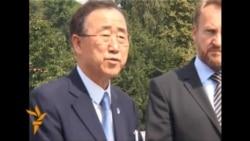 Ban Ki-moon se poklonio sreberničkim žrtvama