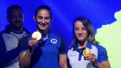 Priština: Doček za zlatne olimpijke