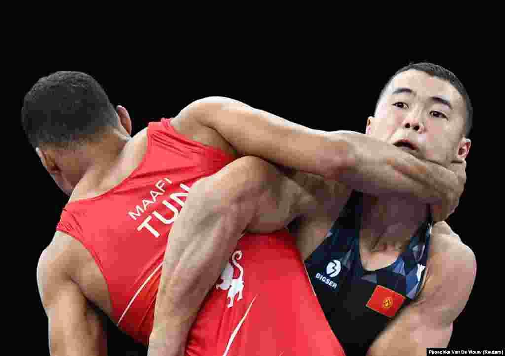Махмудов эгемен Кыргызстандын тарыхында олимпиаданын финалына чыккан экинчи кыргыз спортчусу болуп калды. Буга чейин 2008-жылы Кытайдын Бээжин шаарында өткөн Олимп оюндарынын финалына балбан Канат Бегалиев чыгып, күмүш байге уткан.
