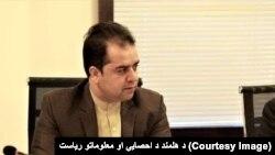 د مرکزي احصایې د خدماتو رئیس محمد اسماعیل سهاک
