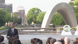 At Hiroshima, Obama Says Mankind Must 'Change Our Mindset About War'