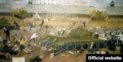 Графічне свідчення учасника Кенгірського повстання Юрія Ференчука «Кров Кенгіра», 1993 рік