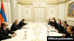 ԵԱՀԿ Մինսկի խմբի համանախագահների հանդիպումը Հայաստանի վարչապետի հետ, Երևան, 14-ը դեկտեմբերի, 2020թ․