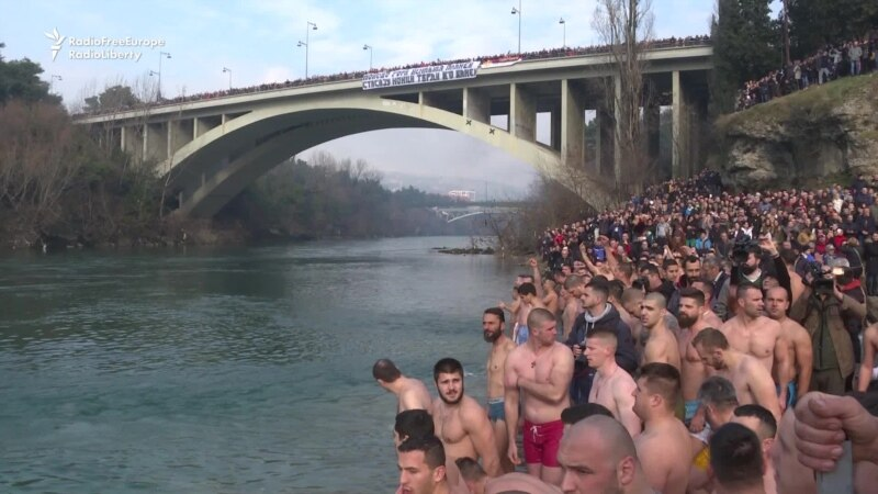 Montenegro Epiphany Swim Marked By Political Tension