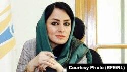 روبینا شهابی سخنگوی اداره ملی احصائیه