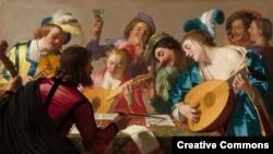 Герард Ван Хонтхорст. Музыканты.