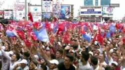 Turkey's Erdogan, His Main Rival Stage Final Election Rallies