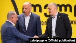 Тамаз Гаиашвили, Бадри Джапаридзе, Мамука Хазарадзе