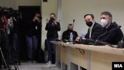 """Сашо Мијалков на изрекувањето на пресудата во предметот """"Таргет - Тврдина"""""""