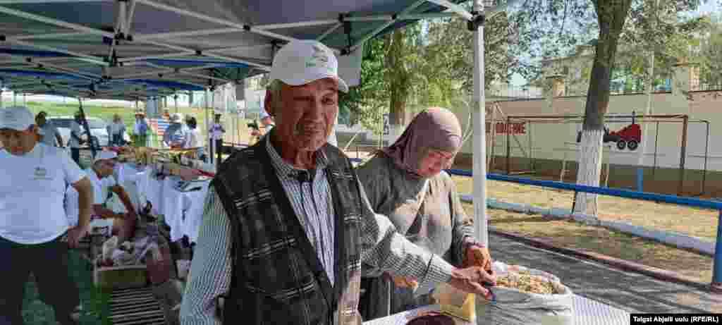 Ноокендик Төрөкул Надырбеков токой чарбадан 6 гектар мисте токоюн ижарага алып, бир тонна мисте терген.