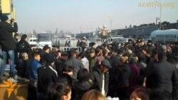 После пожара на барахолке в Алматы