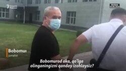 Бишкек суди ҳукми: Журналист Бобомурод Абдуллаев 8 сентябргача ҳибсда қолади