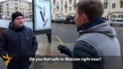 Vox Pop: Heightened Security In Moscow