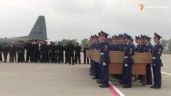 Рештки загиблих пасажирів «Боїнга-777» відправили з Харкова до Нідерландів