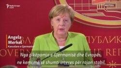 Merkel: Ballkani Perëndimor, vendimtar për stabilitetin e BE-së