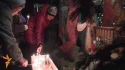 Рождественское богослужение в Алматы