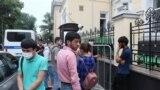 Назди Сафорати Тоҷикистон дар Маскав.