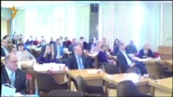 Голосование на сессии Петрозаводского городского Совета