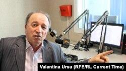 Vasile Mîrzenco, președintele Federației Naționale a Fermierilor în studioul Europei Libere, Chișinău, 13 aprilie 2021.
