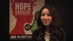 رکسانا صابری در کنسرت «امید برای ایران» می نوازد