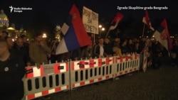 Protest '1 od 5 miliona' do Skupštine Beograda