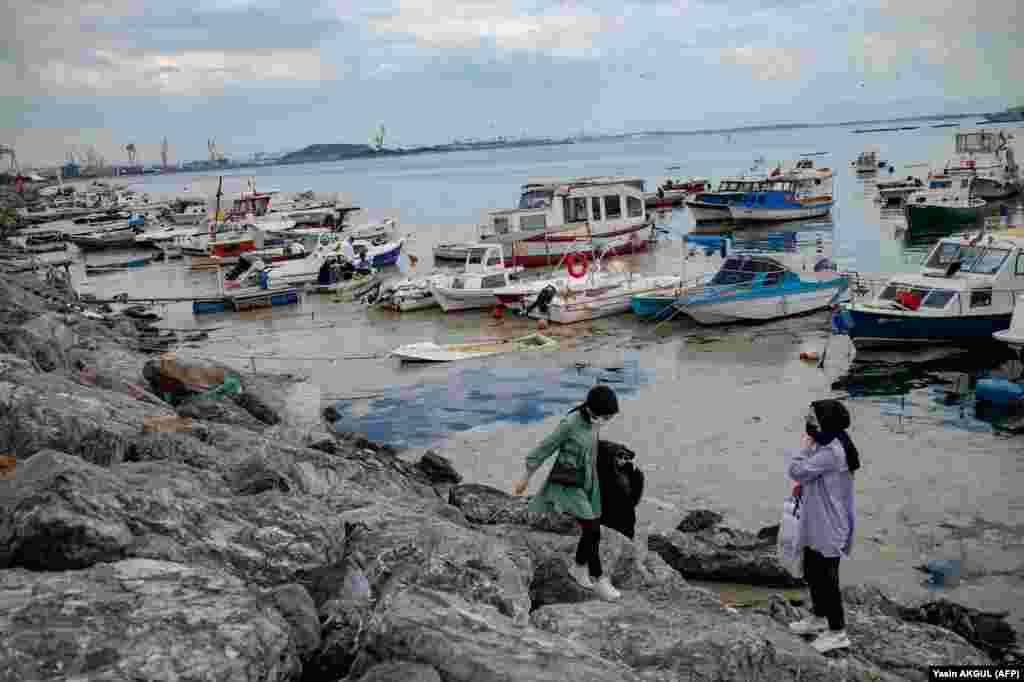 По мнению активистов, состояние Мраморного моря – результат действий человека