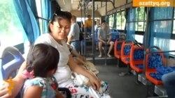 Шымкенттегі тегін автобустар