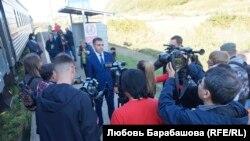 Заместитель начальника ДВЖД по Сахалинскому территориальному управлению Алексей Ромашин