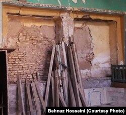 یکی از کنیسههای ویرانشده یهودیان ایران در خوزستان