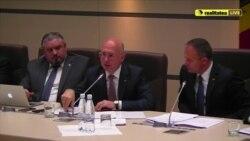 Pavel Filip la întâlnirea cu deputații, 13 octombrie 2017, courtesy Realitatea Live