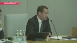 """Медведев не стал комментировать """"абсолютно лживые продукты политических проходимцев"""""""