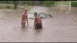 Kaliforniyalılar sel və tropik fırtına ilə üzləşiblər